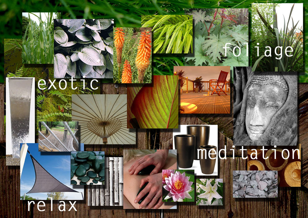 Garden Design Mood Board greenhavens garden services garden design